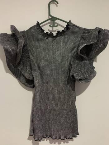 Foto Carousel Producto: Blusa color plata  GoTrendier