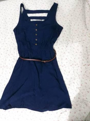 Foto Carousel Producto: Vestido cinturon GoTrendier