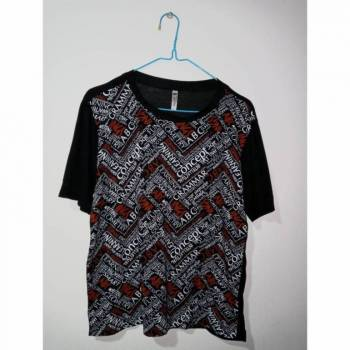 Foto Carousel Producto: Camiseta con estampado adelante talla S/ GoTrendier