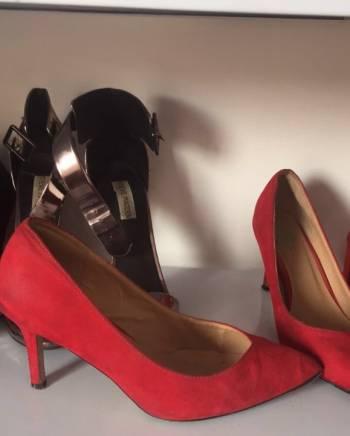 Foto Carousel Producto: Divinos tacones rojos ELA  GoTrendier